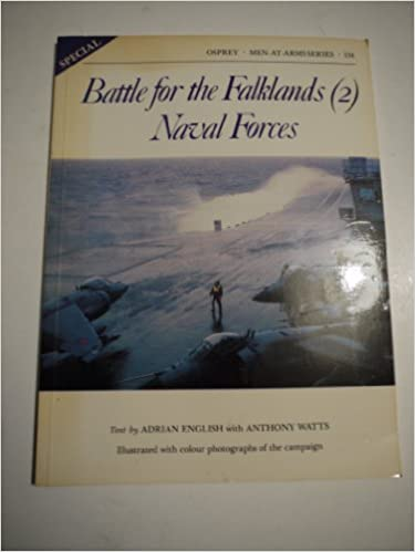 Book Battle for the Falklands (2) : Naval Forces (Men-At-Arms Series, 134) [Paperback] [1982] (Author) Adrian English
