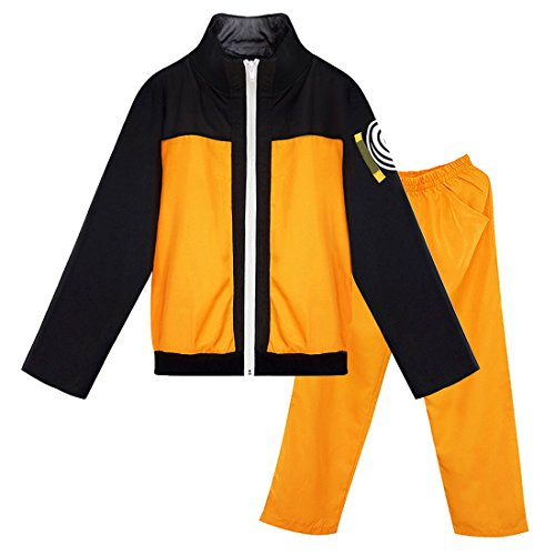 (DAZCOS US Size Adult Anime Uzumaki Cosplay Costume (Men Medium))