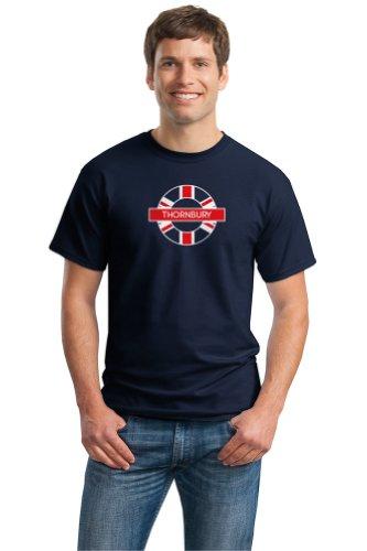 THORNBURY, UNITED KINGDOM Unisex T-shirt, UK Pride Tee-Medium