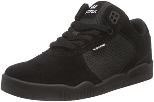 Supra Mens Ellington Black Black Black Shoes
