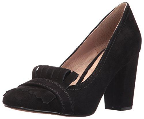 Steven By Steve Madden Women Sandalo Classico In Pelle Scamosciata Con Punta Rotonda In Pelle Scamosciata