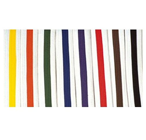 Cimac Martial Arts Striped White Belt 110-029 110-019