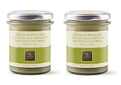 Amazon.com : Vincente Sicilian Cream of Pistachio Nut Spread, 7.05 Ounce (Pack of 2) : Grocery & Gourmet Food