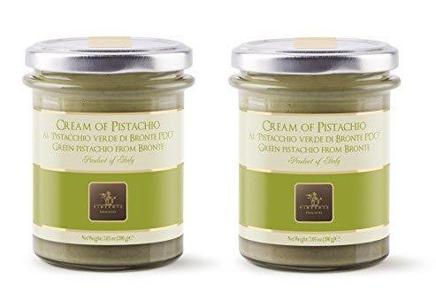 Vincente Sicilian Cream of Pistachio Nut Spread, 7.05 Ounce (Pack of 2)