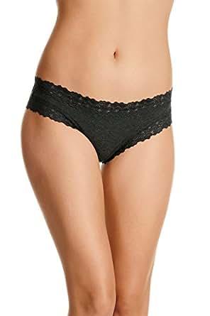 Jockey Women's Underwear Parisienne Cotton Marle Cheeky Brief, Charcoal Marle, 8