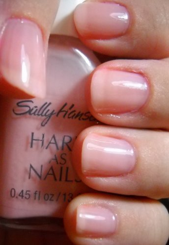 Sally Hansen Hard As Nails Color Nail Enamel-Sheer Strawberry, 0.45