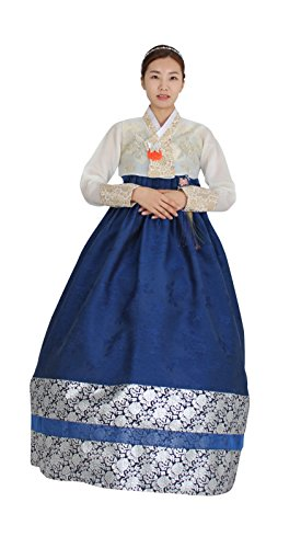 Hanbok Korea Traditional Costumes Women Junior Party Weddings Birthday Special Ceremony co113 (77 (L) womens top) by Hanbok store