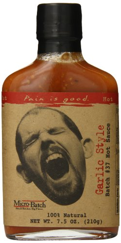 Pain is Good Batch #37 Garlic Style Hot Sauce, 7.5 Ounce