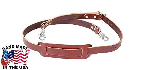 Occidental Leather 1019 Handcrafted All Leather Shoulder Strap