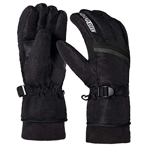 Winter Warm Ski Glove - Waterproof & Windproof Snow Gloves for Women, Snowboard Gloves with Wrist...