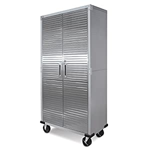 3. UltraHD Tall Storage Cabinet Stainless Steel