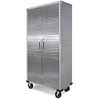 UltraHD Tall Storage Cabinet   Stainless Steel