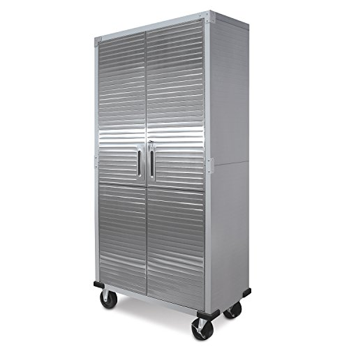 UltraHD Tall Storage Cabinet - Stainless Steel by UltraHD