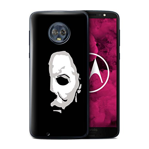 STUFF4 Phone Case/Cover for Motorola Moto G6 2018 / Michael Myers Inspired Art Design/Horror Movie Art Collection -