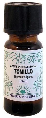 Bote Aceite Esenciero 10 ml Perfume Tomillo
