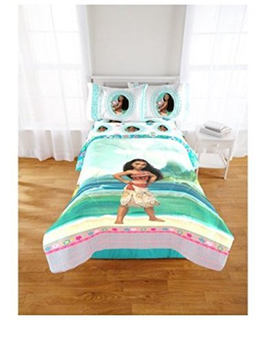 Disney Pixar Moana 4 Piece Full Sheet Set by Pixar