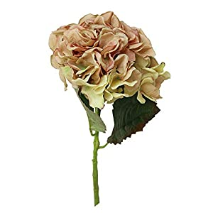 Rm.Baby 1Pcs Artificial Fake Flowers Peony Floral Real Touch Looking Cloth Material Arrangement Bouquets Bridal Hydrangea Home Garden Decor Room Office Centerpiece Party Wedding Decor 71