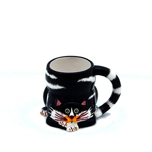 - Ganz - Ceramic - Mug -Black Cat