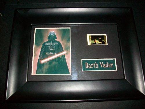 DARTH VADER STAR WARS Framed Film Cell Display Collectible Movie Memorabilia