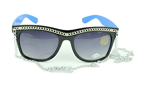 Belle Donne - Womens Fashion Hot Celebrity Style Gold Chain Sunglasses - - Snooki Sunglasses