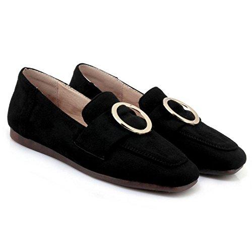 KemeKiss Loafer Women Pumps Spring Black Shoes fnnr6x