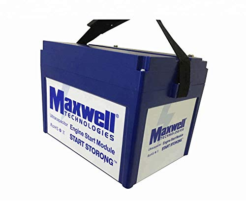 Maxwell 16V 500F Super Capacitor Battery Solar Power Bank Audio Automotive  Battery Cases