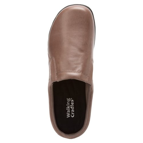 Walking Cradles Dames Adobe Clog Taupe Leer