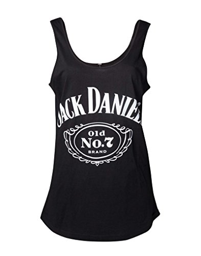 Used, Jack Daniels Vest Tanktop Logo Lower Back Official for sale  Delivered anywhere in USA