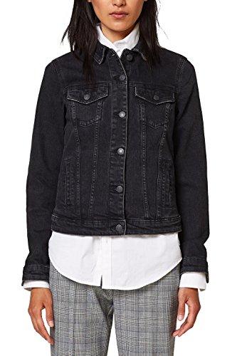 Esprit 912 Jeans Nero Medium In Wash Giacca Donna black rH8qrC