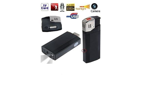 Yonis mechero-Cámara espía Full Hd 1080P tormenta Mini cámara de fotos: Amazon.es: Bricolaje y herramientas