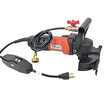 "Hardin WP800 4"" Variable Speed 110V, 1000-4000 RPM Wet Polisher and Grinder 800 Watt 5/8""x11 Spindle (WVGRIN)"