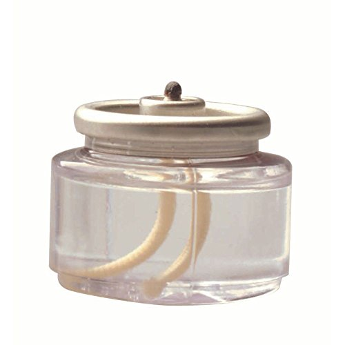 Hollowick Liquid Tealight Disposable Fuel Cell, 13/16 inch Height - 90 per - Liquid Tealight