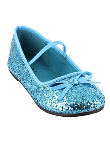 Scary Ballerina Costumes Ideas - Flat Ballet Glitter Child Shoes