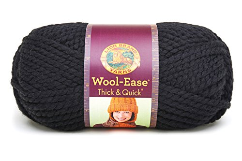 Lion Brand Lion  640-153 Wool-Ease Thick & Quick Yarn , 9...