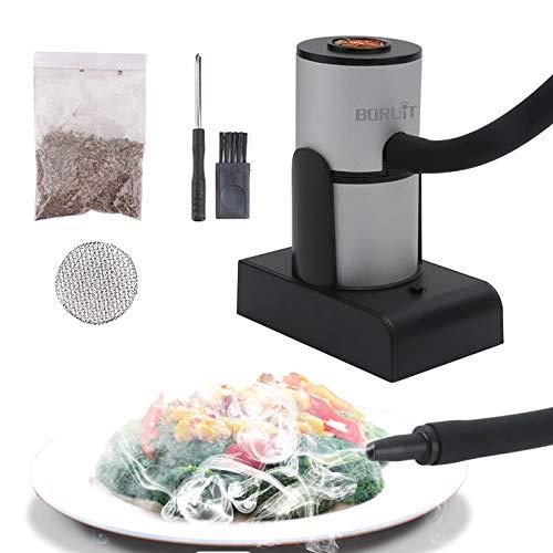 Portable Smoking Gun Wood Smoke Infuser ,Handheld Food Kitchen Smoker for Sous Vide,Meat,Salmon,Cocktails Drink,Cheese…
