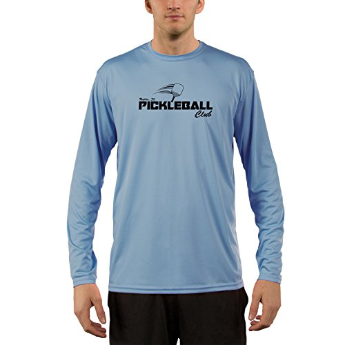 Vapor Apparel Men's Naples Pickleball UPF 50+ Long Sleeve T-Shirt Large Columbia - Men Naples