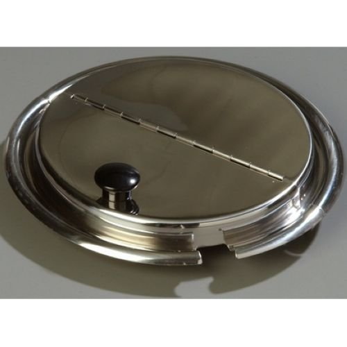 (Carlisle Heavy Gauge 18-8 Stainless Steel Hinged Cover Only, 7 Quart - 1 each.)