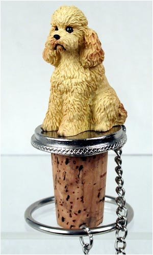 Poodle Bottle Stopper by Conversation Concepts