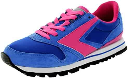 f9b7d57e16e BROOKS Women s Chariot Bluepink Blueribbon Running Shoe 6 Women US