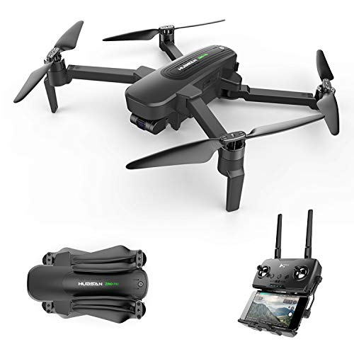 HUBSAN Zino Pro 4K Drone 3-Axis Gimbal 5G FPV Live Video with UHD Camera RC Quadcopter for Adults RTF GPS Auto Return to Home Foldable Arm (Zino Pro)