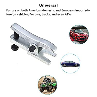 A ABIGAIL Universal Ball Joint Separator - Remover Tool for Separating Arms, Tie Rods, and Ball Joints on Cars, Trucks, ATVs: Automotive
