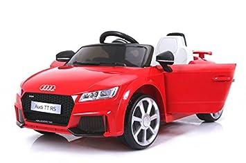 TtRougeOriginal BatteriePortes Cuir2x Moteur Audi Enfants LicenceAlimentation En Par Pour Électrique D'ouvertureSiège Véhicule dEeQrCoBWx