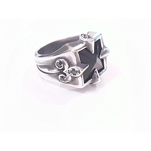 Bague Gio'yellou middleage gymaan4023 Argent Pierres Dures