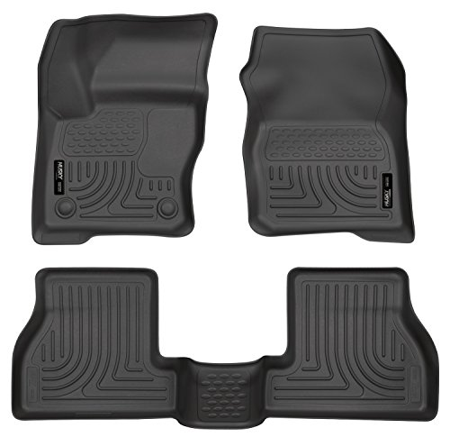 Husky Liner 2nd Row Seat (Husky Liners Front & 2nd Seat Floor Liners Fits 12-16 Focus)