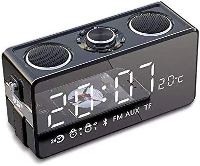 25Wポータブルスピーカー8時間再生時間ワイヤレス屋外用ミニBluetoothスピーカー内蔵リチウム電池サポートTF UディスクAUX入力再生USB (色 : 黒)