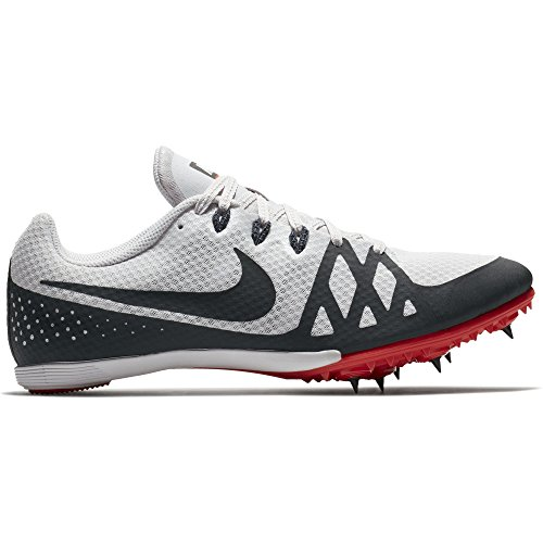 ffa1be8eb16 NIKE Men s Zoom Rival MD 8 Track Spike Vast Grey Anthracite Habanero Red