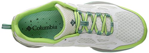 Columbia Womens Megavent Fly Hiking Shoe White, Deep Wave