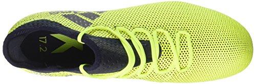 adidas X 17.2 SG, Scarpe da Calcio Uomo Giallo (Solar Yellow/Legend Ink/Legend Ink)