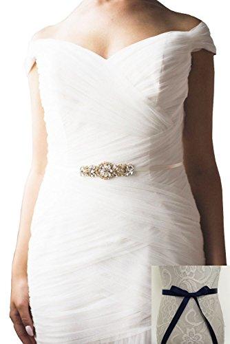 Buy navy dress accessories - 9