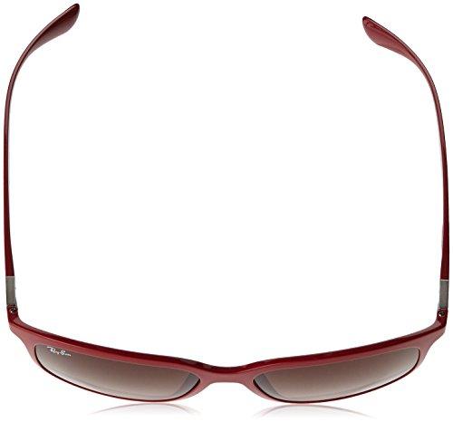 Rojo Amaranth 612613 0RB4215 sol de Gradientbrown Gafas 57 RAYBAN Hombre TO0wq5S